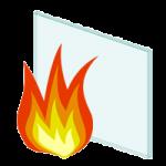 Brandwerend vensterglas