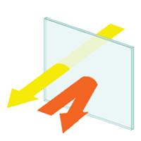Hoogrendementsglas / superisolerend vensterglas