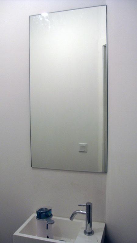 Spiegels glashandel lievens - Voorbeeld toilet ...
